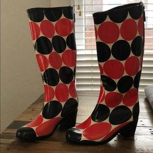 Kate Spade rain wellies